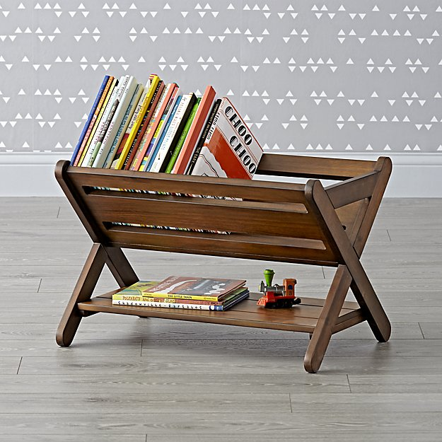 Good Read Walnut Book Caddy