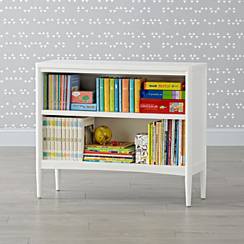Hampshire White Bookcase