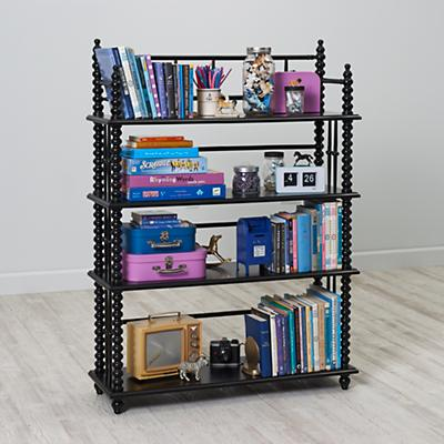 Jenny Lind Black Bookcase