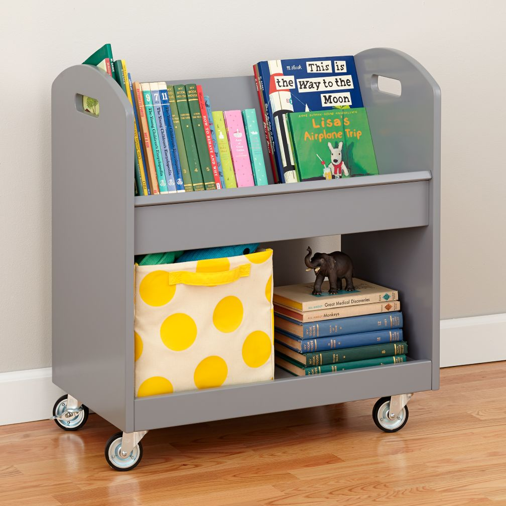 Local Branch Library Cart Grey The Land Of Nod
