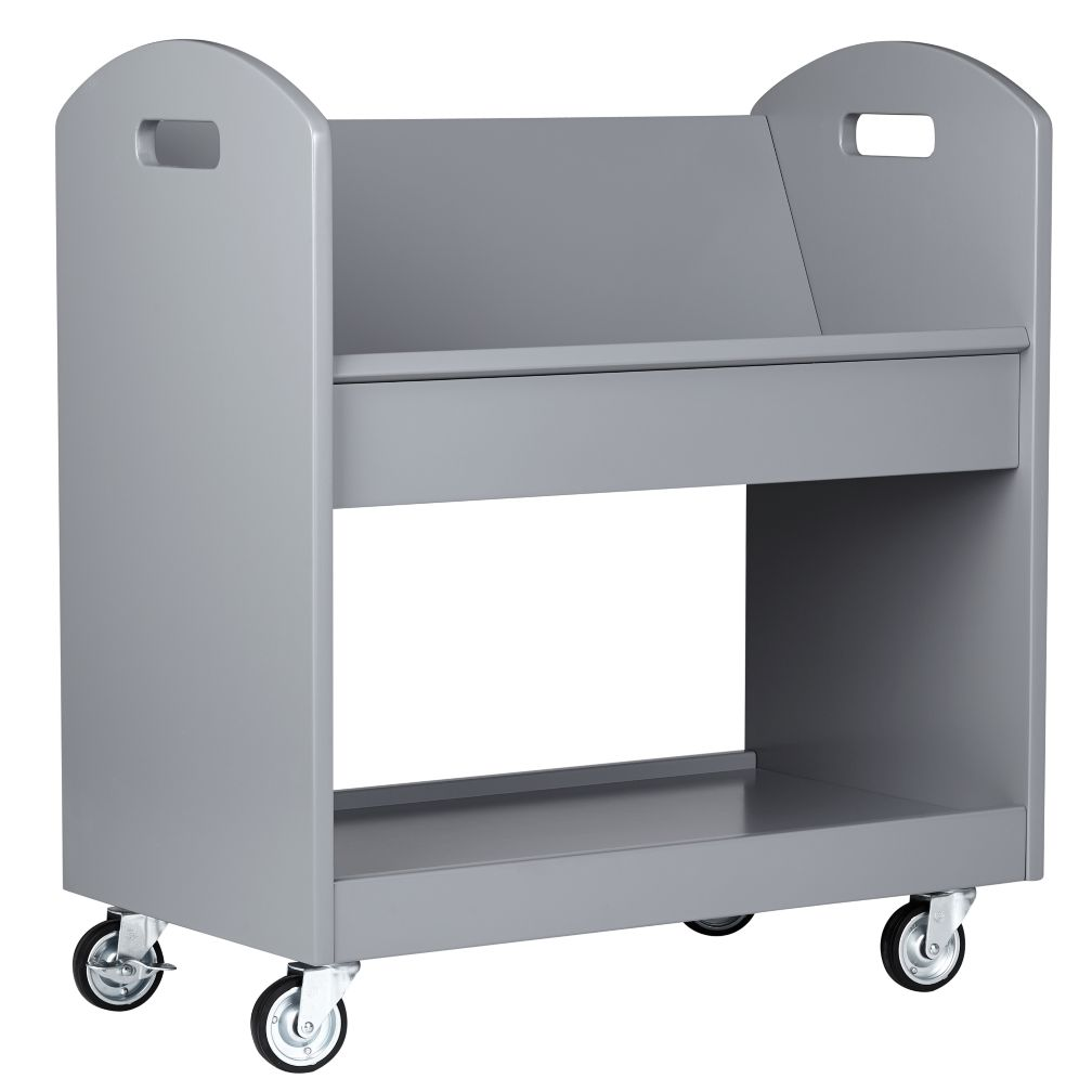 Local Branch Library Cart (White) | The Land of Nod