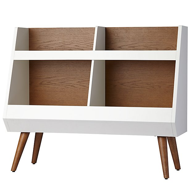 Next Chapter Bookcase (Walnut/White)