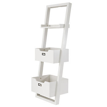 Little Sloane Leaning Bookcase (White)