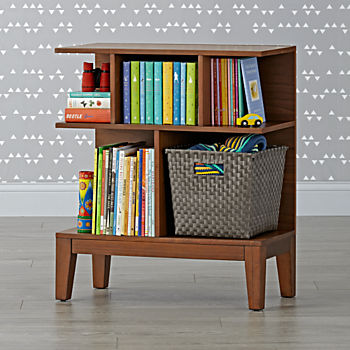 Sprout Small Walnut Bookcase