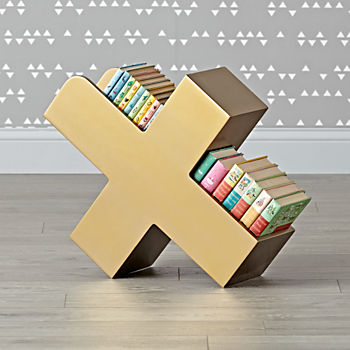 X Marks the Gold Book Caddy