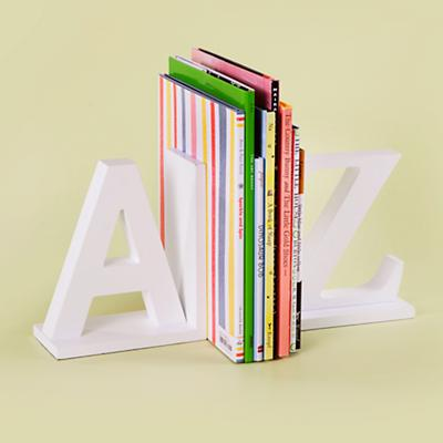 A to Z Bookend Set