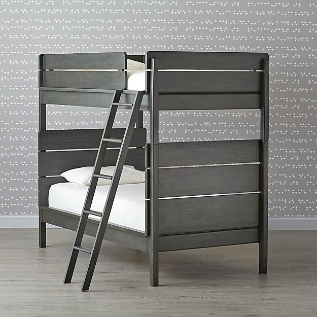 Wrightwood River Blue Twin Bunk Bed