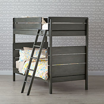 Wrightwood River Blue Bunk Bed