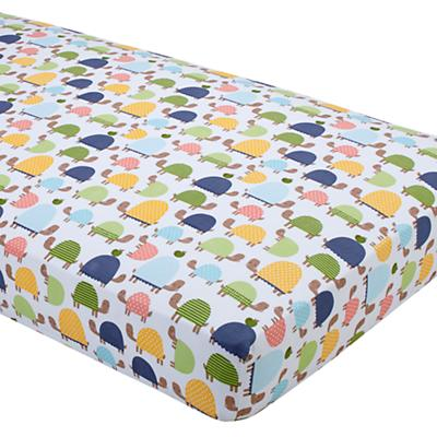 See Turtles Crib Fitted Sheet