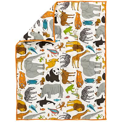 Welcome to the Jungle Crib Quilt