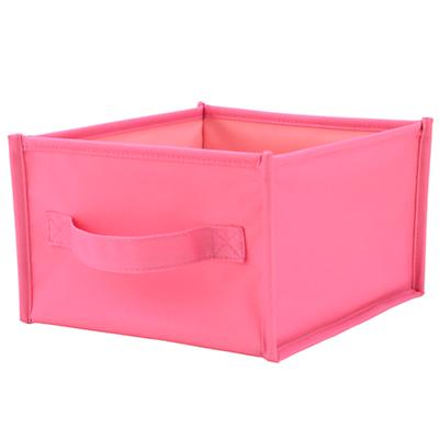 I Think I Canvas Shelf Bin (Pink)