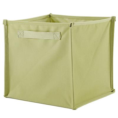 I Think I Canvas Canvas Bin (Lt. Green)