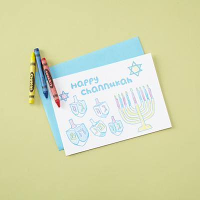 A Dash of Color Channukah Cards