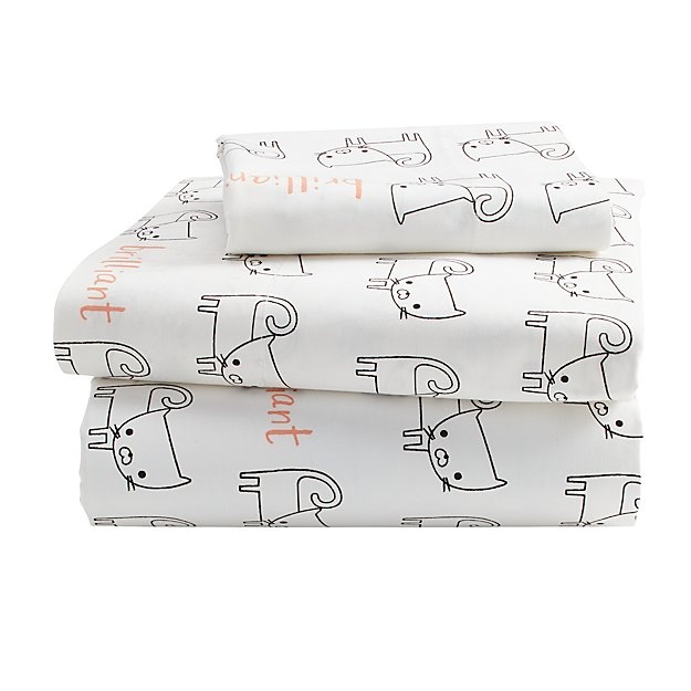 Early Edition Toddler Sheet Set (Cat)