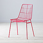 Pink Domino Desk Chair.