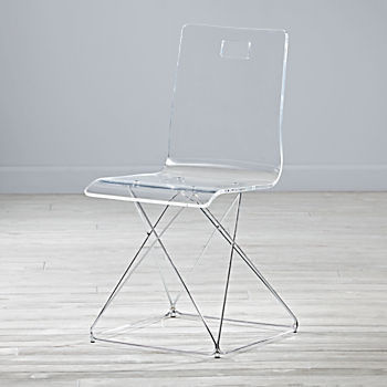 Now You See It Acrylic Desk Chair