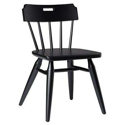 Flea Market Handle Back Chair (Black)