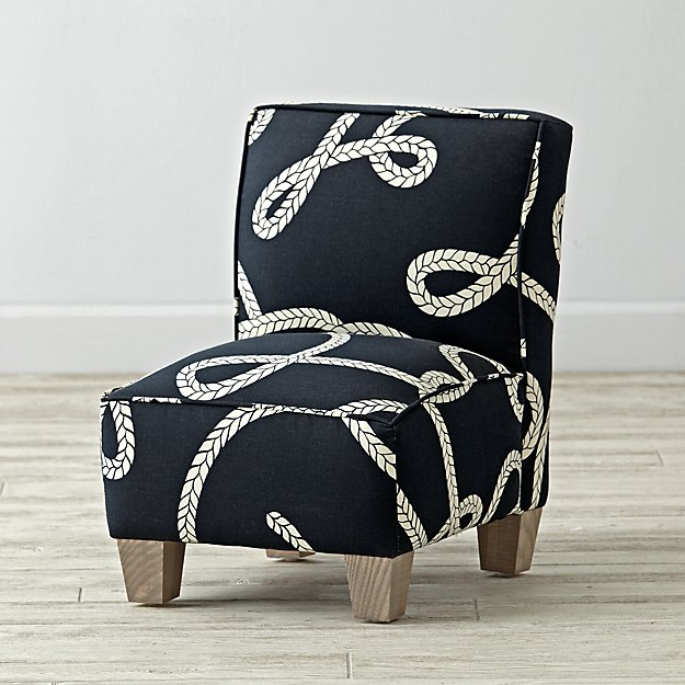 Petite Chair petite upholstered chair (goodwin rope) | the land of nod