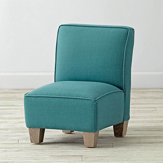 Petite Upholstered Chair (Linen Laguna)