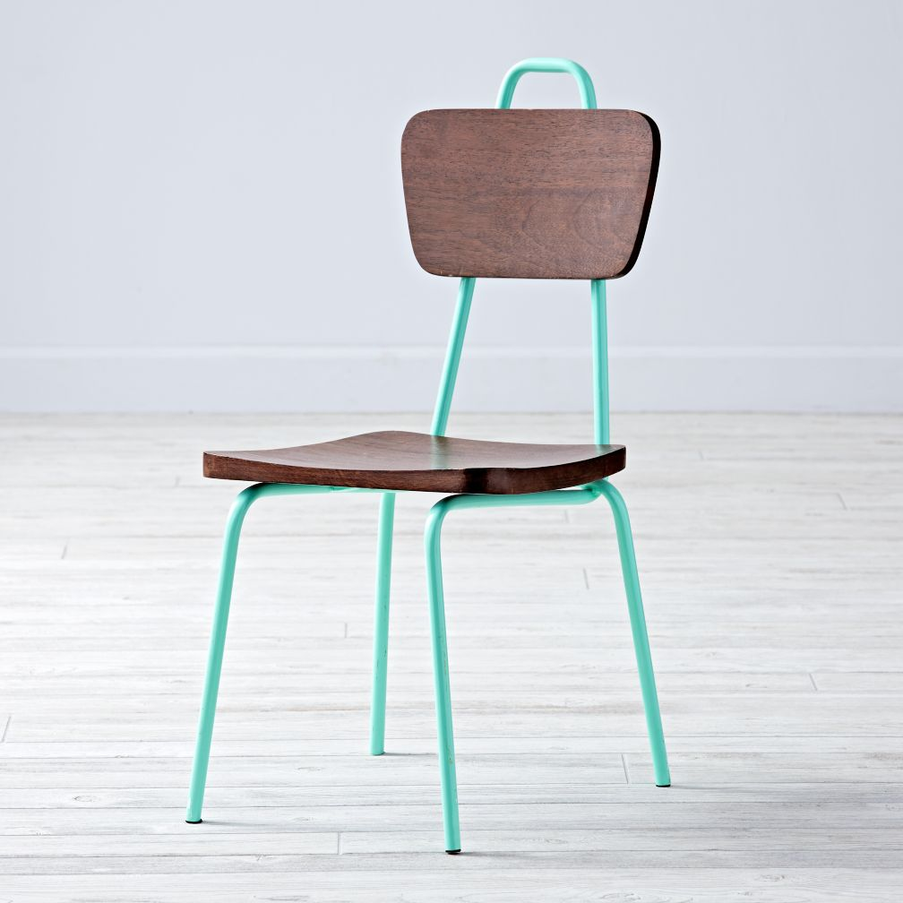 Candy Stick Mint Kids Chair