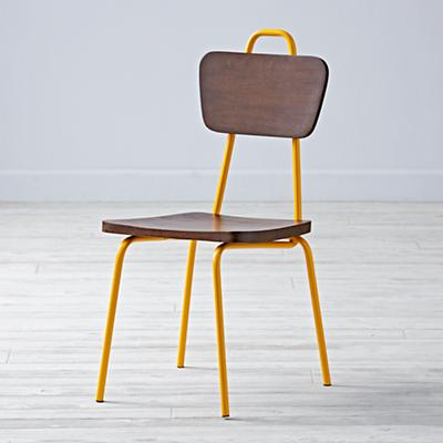 Candy Stick Mustard Kids Chair
