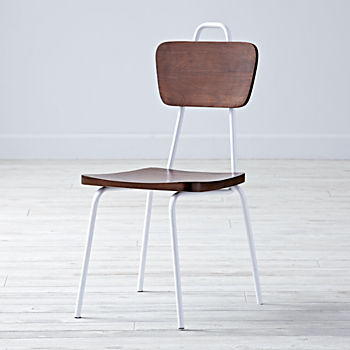 Candy Stick White Kids Chair