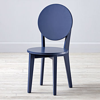 Double Dot Navy Kids Chair