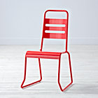 "Homeroom Red Kids ChairFloor to Seat: 14.5"" H"