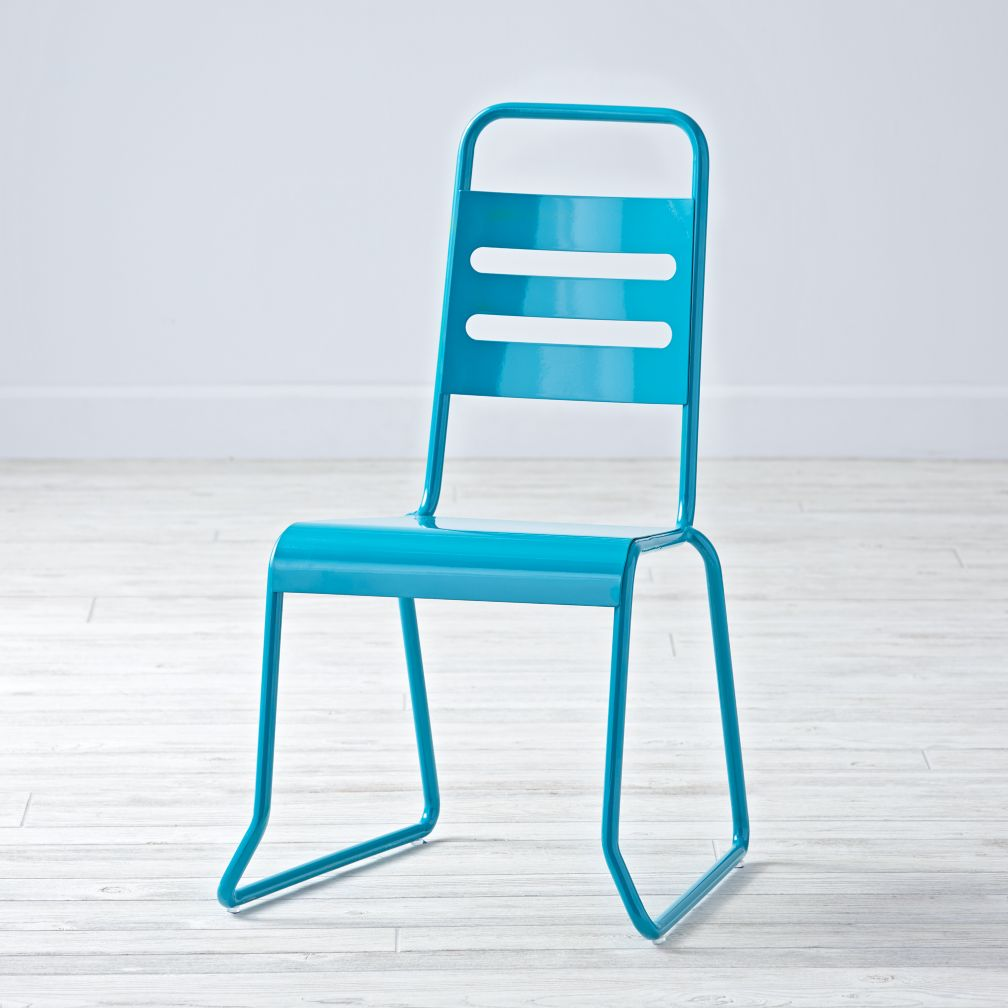 Homeroom Teal Kids Chair