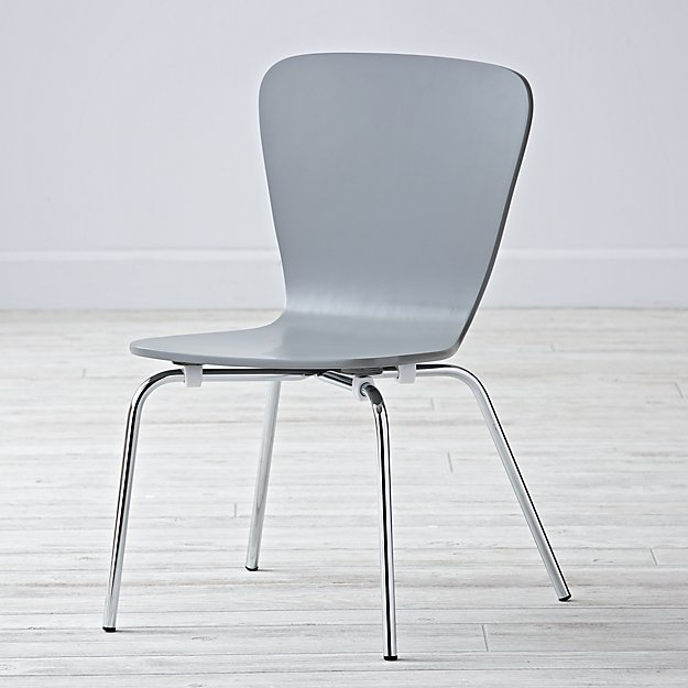 Little Felix Grey Kids Chair
