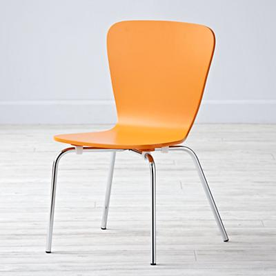 Little Felix Orange Kids Chair