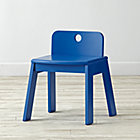 "Mojo Blue Kids ChairFloor to Seat: 13"" H"