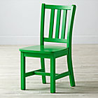 "Parker Bright Green Kids ChairFloor to Seat: 14"" H"