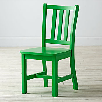 Parker Bright Green Kids Chair