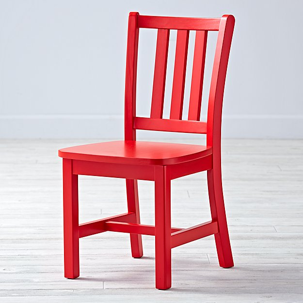 Parker Cherry Kids Chair