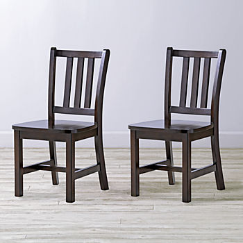 Set of 2 Parker Java Kids Chairs