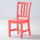 "Parker Pink Kids ChairFloor to Seat: 14"" H"