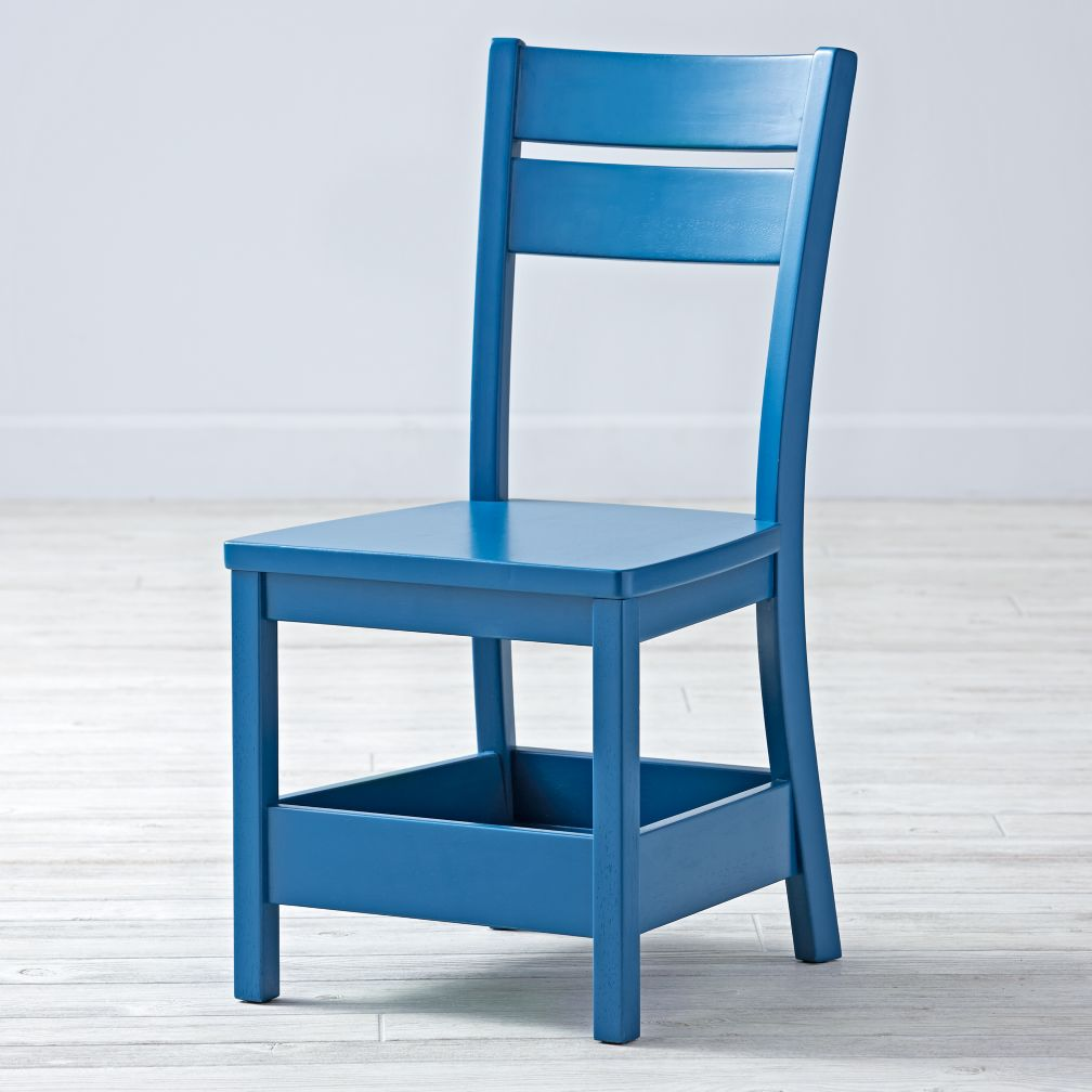 Porter Blue Kids Chair
