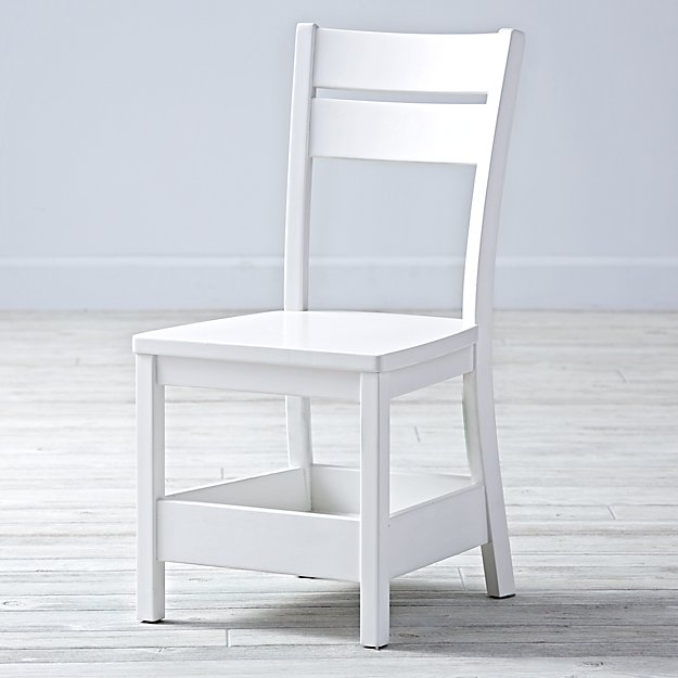 Porter White Kids Chair