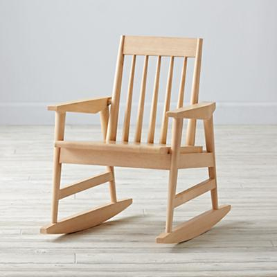Rocking Natural Kids Chair