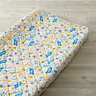 Floral Rush Changing Pad Cover