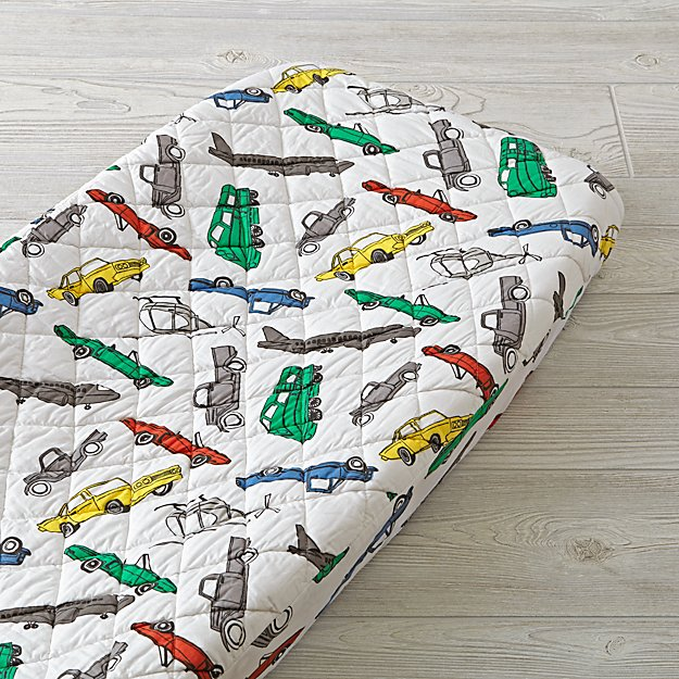 Traffic Jam Changing Pad Cover