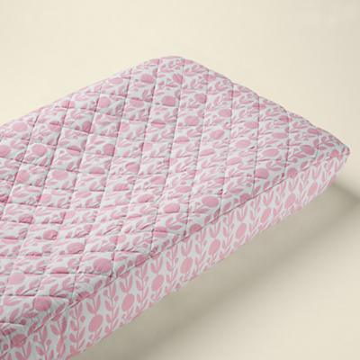 In the Mix Changer Pad Cover (Pink Floral)