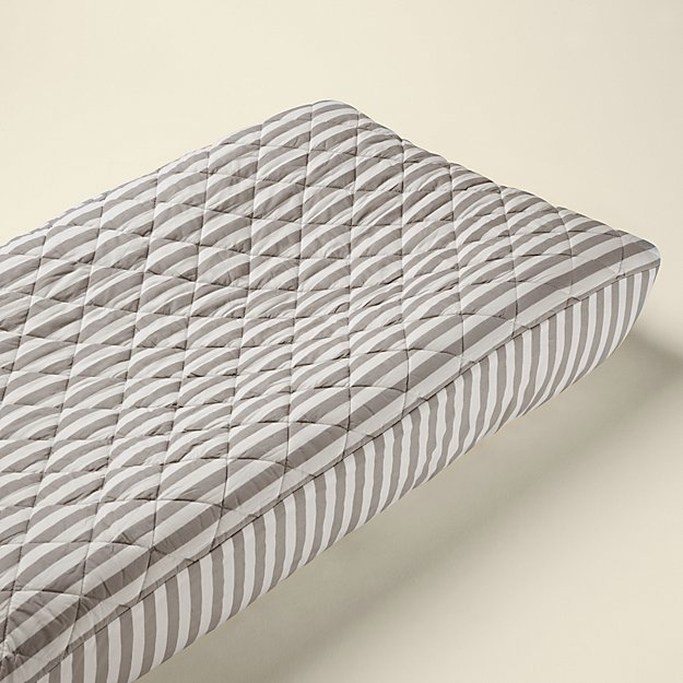 In the Mix Changing Pad Cover (Stripe)