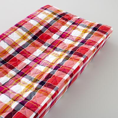 Changer Pad Cover (Pink Plaid)