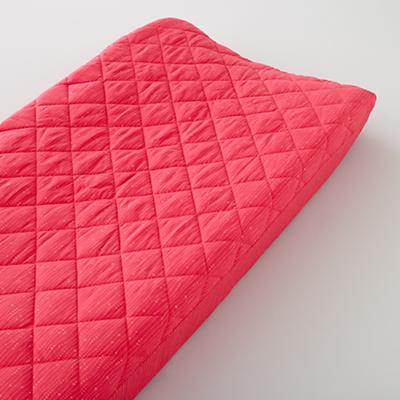 Changer Pad Cover (Pink with Pink Dot)