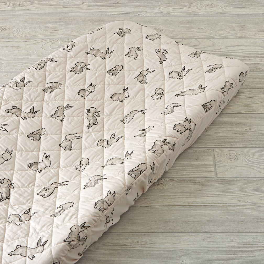 Bunny Changing Pad Cover The Land Of Nod