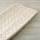 Daily Sketch Pink Changing Pad Cover