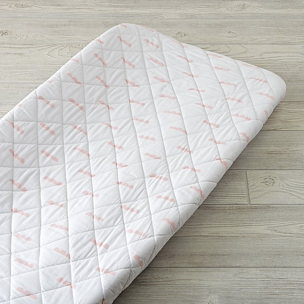 Iconic Pink Clouds Changing Pad Cover