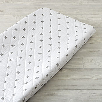 Iconic Grey X Changing Pad Cover